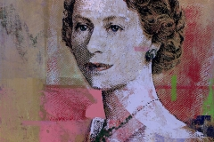 5 Dollars, Queen Elizabeth, 44 by 28, 2017