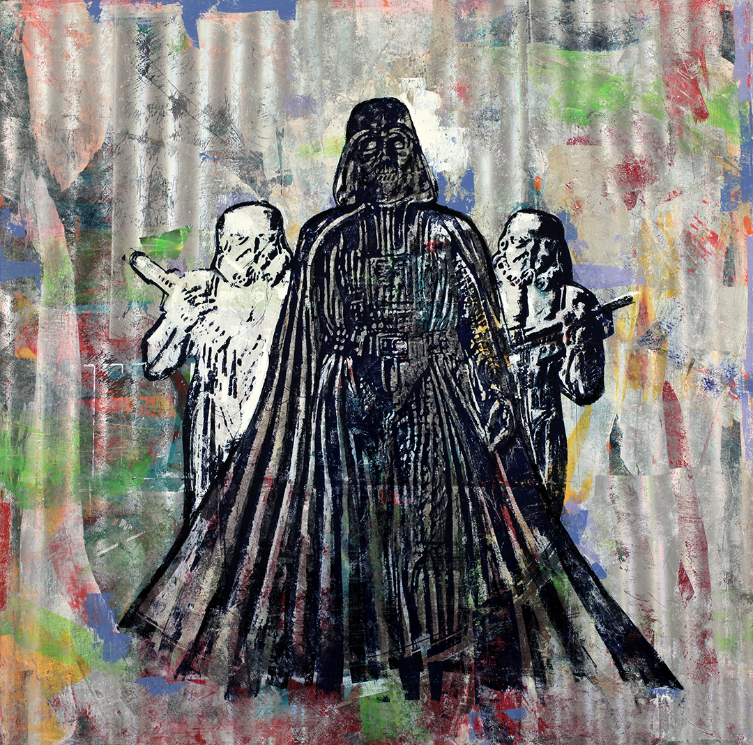 2 Dollars Darth Vader, 48 by 48,  2015