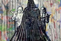 2 Dollars Darth Vader, 48 by 48,  2015