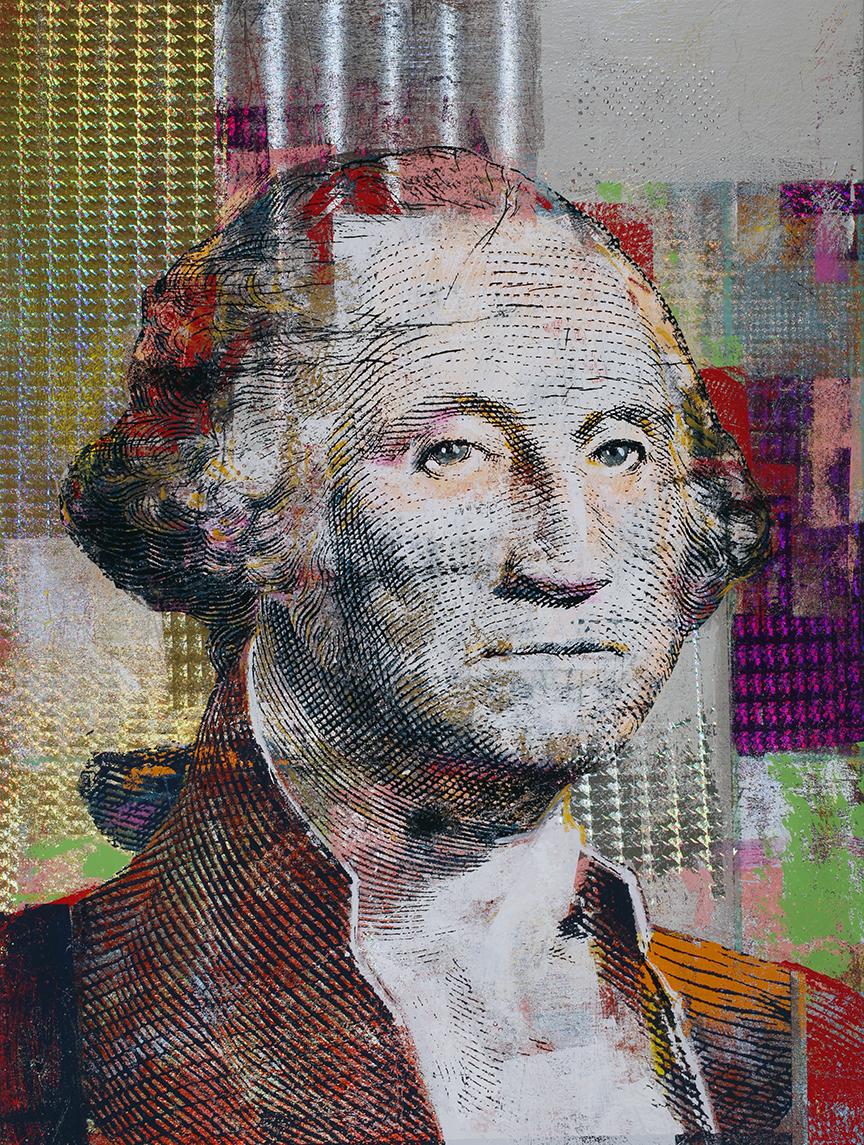 1 Dollar George Washington 40 by 30, 2020