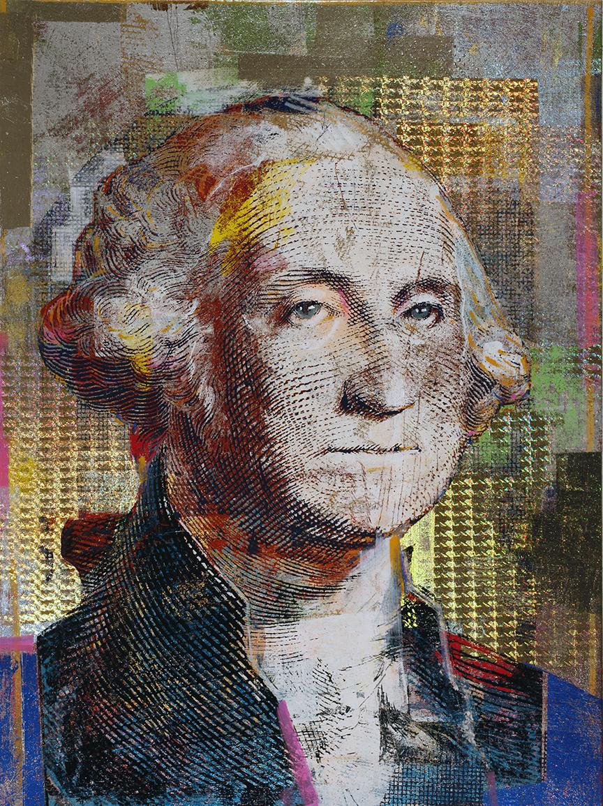 1 Dollar, George Washington, 40 by 30, 2020