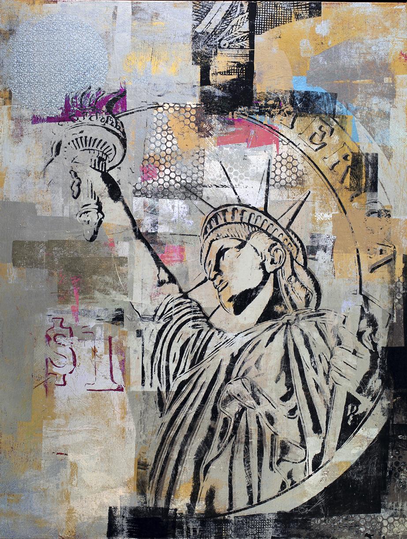 $1 Liberty NY. 52 by 40 2013