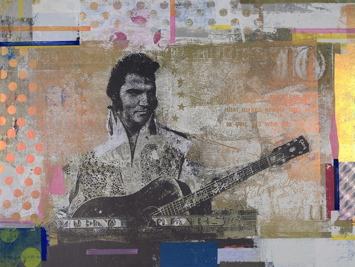 10 Dollars Elvils Presley, 30 by 40,  2018