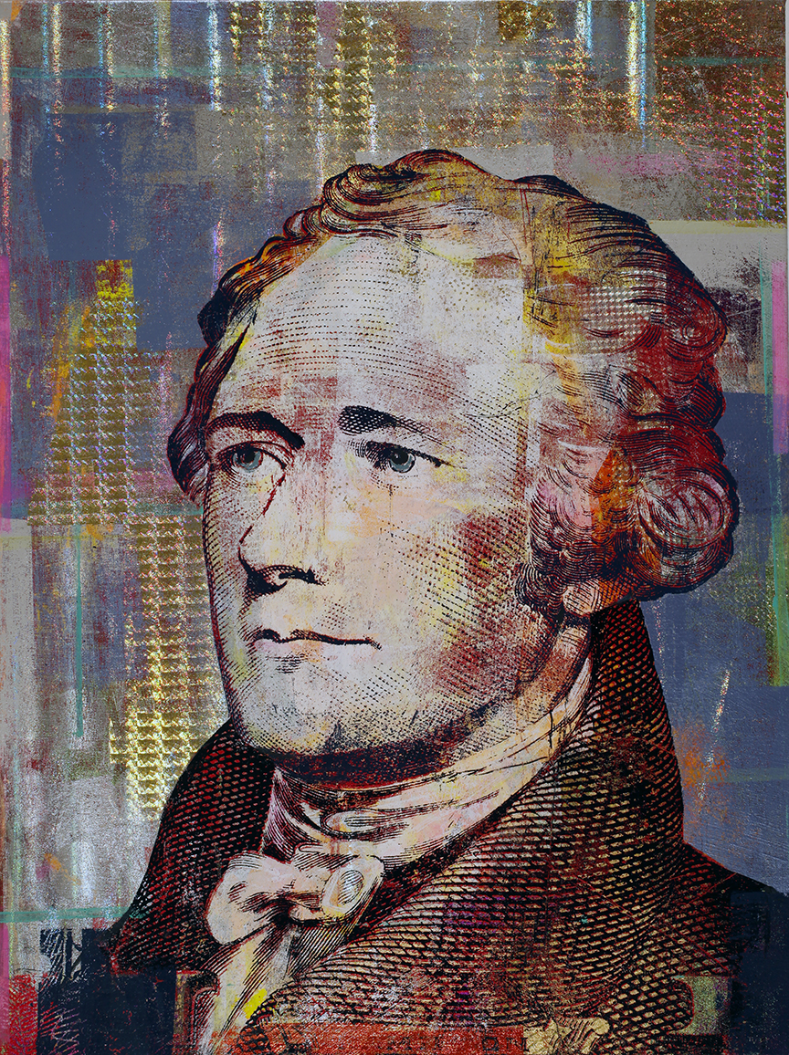 10 Dollars, Alexander Hamilton, 40 by 30, 2020