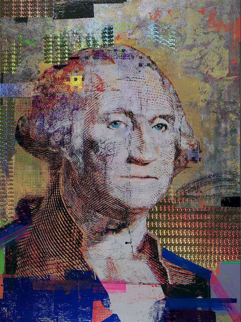 1 Dollar, George Washington, 40 by 30, 2019