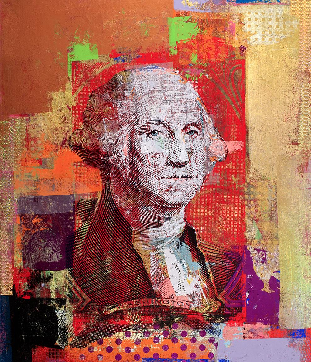 $1George Washington 52 by 44 2017