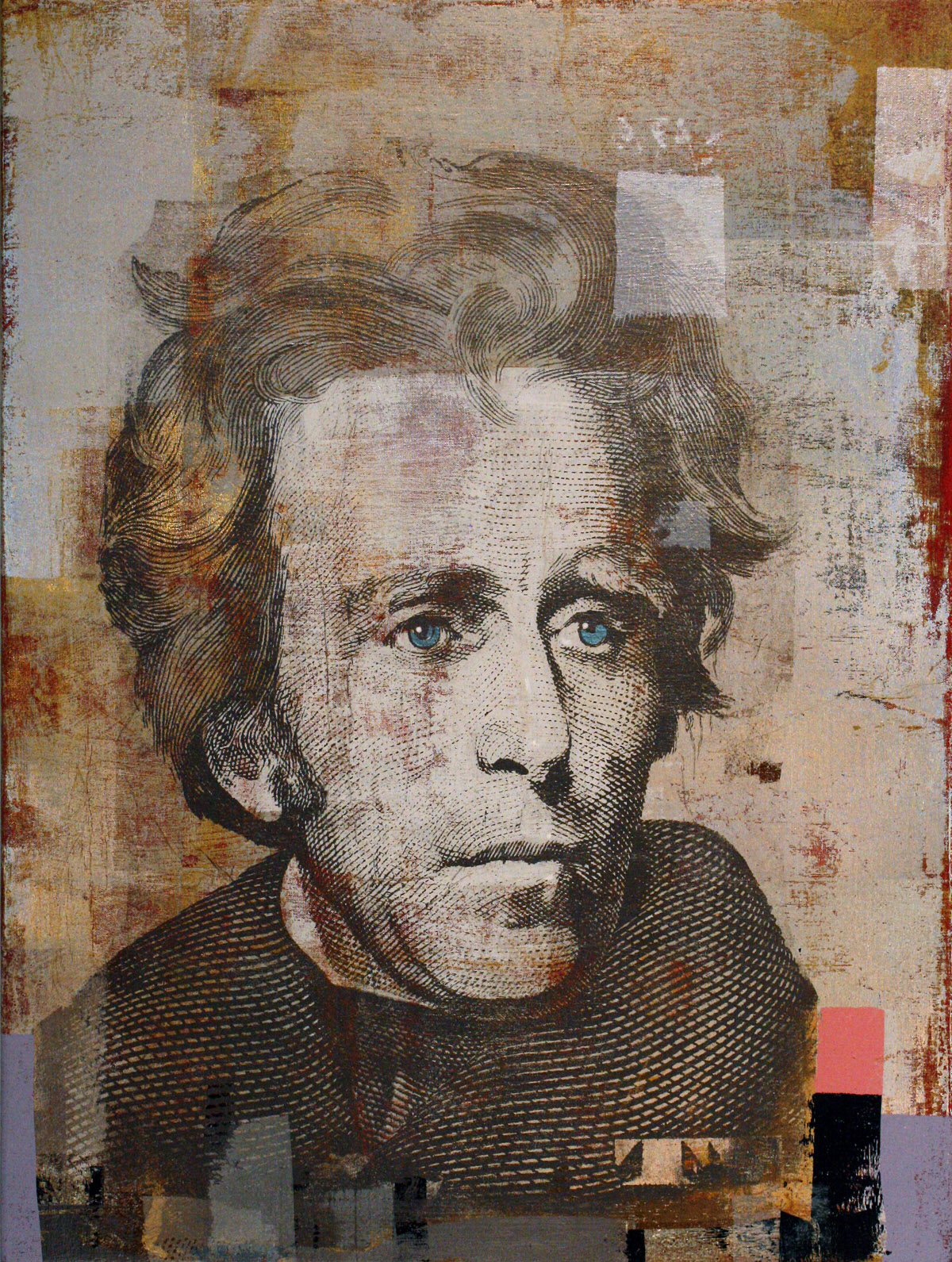 20-Dollars, Andrew Jackson, 40 by 30 2014