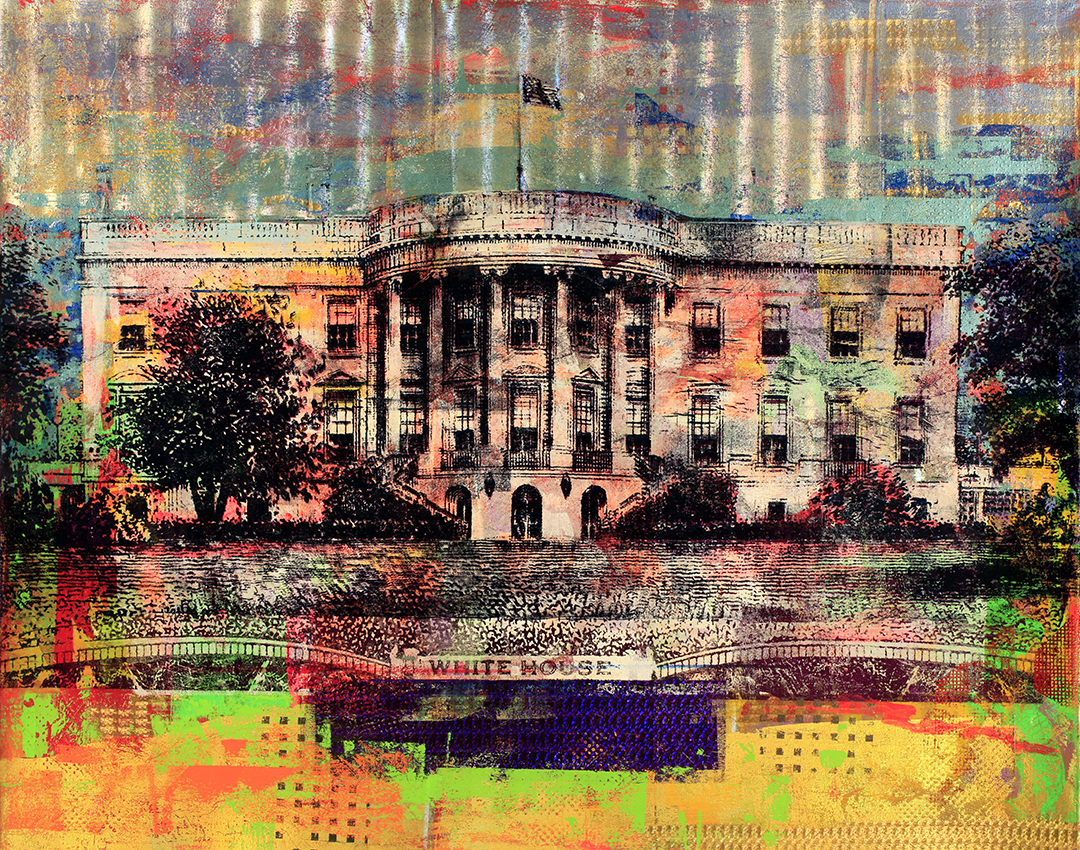 20 Dollars, White House, 48 by 60, 2019