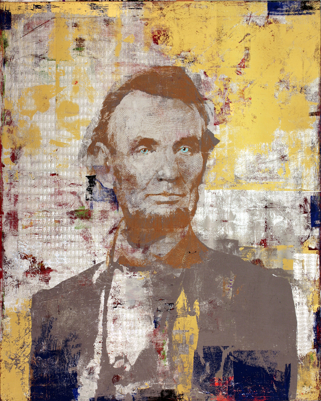 5 dollars Abraham Lincoln 50 by 40 2015