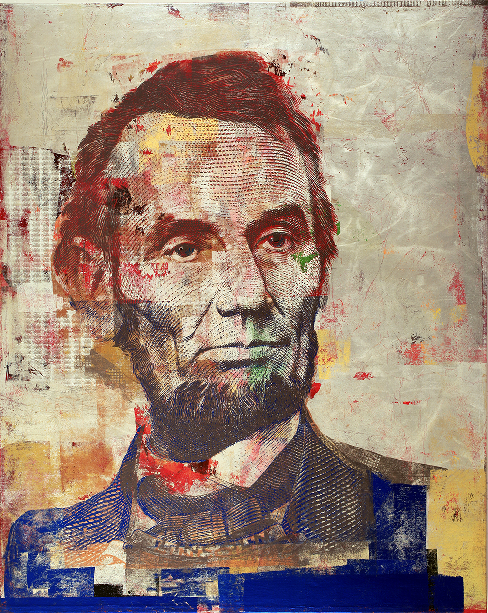 5Dollars Abe Lincoln 60 by 48 2016