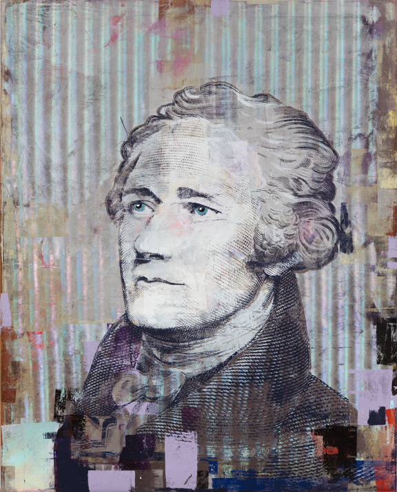 Alexander Hamilton 60 by 48 inches