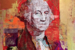 $1George Washington 52 by 44 2017