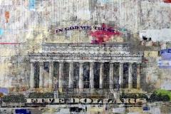 $5 Lincoln Memorial