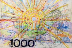 1000 Kronen Munch, 70 by 67-2009